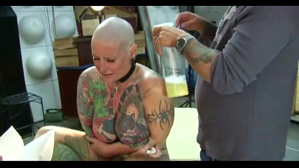 Blackwidow Extreme Head Tattoo