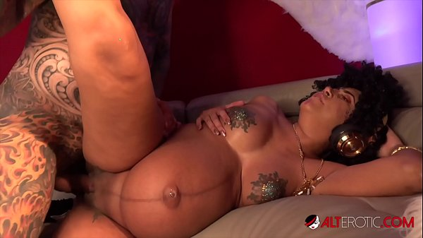 Pregnant Sindy Ink has her pussy pounded hard